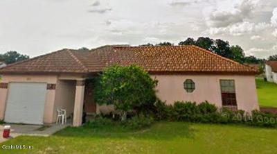 Ocala Single Family Home For Sale: 305 Oak Lane Trace