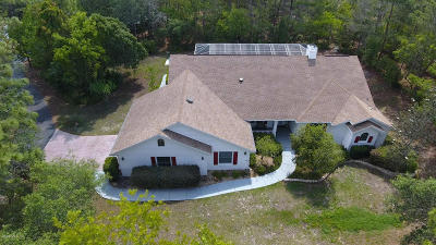 Citrus County Single Family Home For Sale: 4319 N Pony Drive