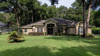 Ocala FL Single Family Home Sold: $277,000