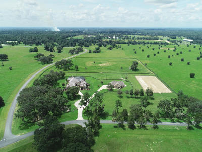 Belleview, Ocala, Ocala Fl Farm For Sale: 1500 SE 116th Pl Road