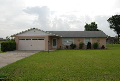Belleview Single Family Home For Sale: 10775 SE 73rd Court