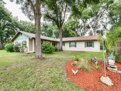 Citrus County Single Family Home For Sale: 808 Wharton Terrace