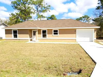 Ocala Single Family Home For Sale: 14 Spring Trace