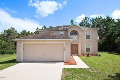 Ocala Waterway Single Family Home For Sale: 4550 SW 110th Lane