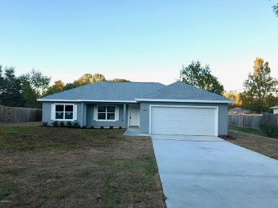 Single Family Home For Sale: 5899 Pecan Road