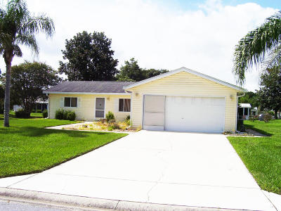 Summerfield FL Single Family Home Pending: $119,900