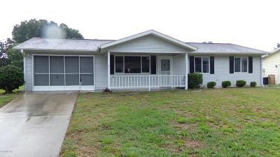 Oak Run Single Family Home For Sale: 11575 SW 89th Avenue