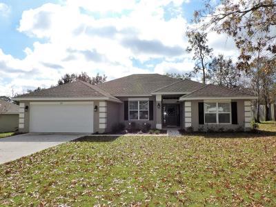 Ocala Single Family Home For Sale: 1251 SE 65th Circle