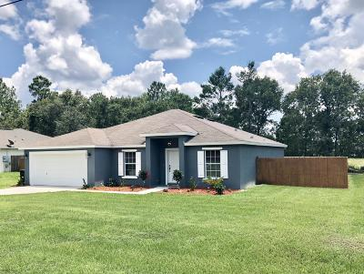 Ocala Single Family Home For Sale: 3870 SW 131 Place Road