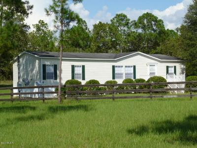 Levy County Single Family Home For Sale: 1651 SE 111th Court