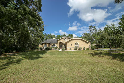 Citrus County Single Family Home For Sale: 4669 N Pink Poppy Drive