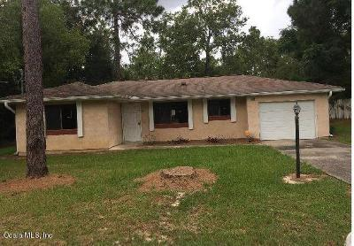 Ocala Single Family Home For Sale: 438 Spring Drive
