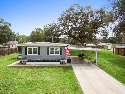 Silver Springs Mobile/Manufactured For Sale: 2111 SE 172nd Terrace