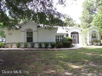 Dunnellon Single Family Home For Sale: 8730 SW 205th Circle