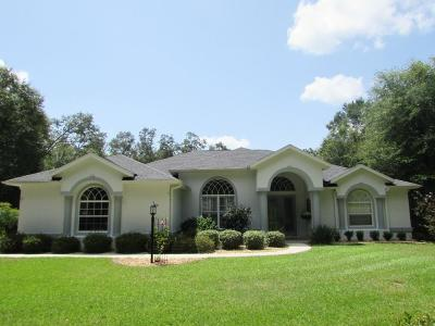 Dunnellon Single Family Home For Sale: 8910 SW 198 Court