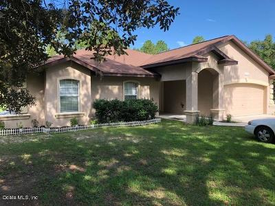 Dunnellon Single Family Home For Sale: 7798 SW 204th Avenue