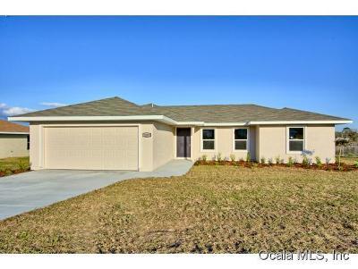 Single Family Home For Sale: 570 Marion Oaks Lane