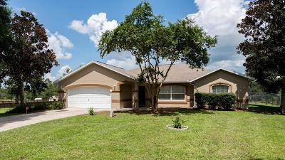 Ocala Waterway Single Family Home For Sale: 4815 SW 101st Lane