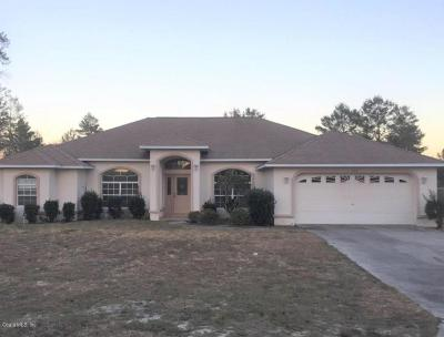 Ocala Single Family Home For Sale: 470 SW Marion Oaks Golf Way