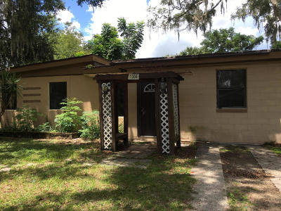 Ocala Single Family Home For Sale: 1304 NE 10th Avenue