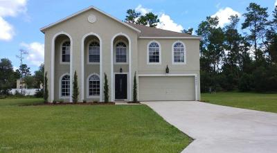 Ocala Single Family Home For Sale: 3945 SW 111th Place Place