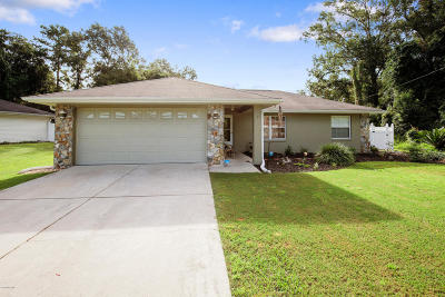 Ocala Single Family Home For Sale: 7 Hemlock Terrace Drive