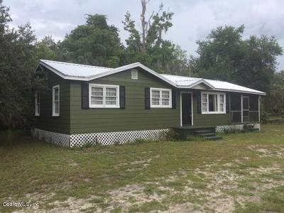 Salt Springs Single Family Home For Sale: 24841 NE 135th Street