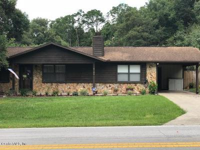 Ocala Single Family Home For Sale: 6706 Cherry Road