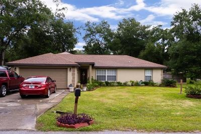 Silver Springs Single Family Home For Sale: 2399 SE 175 Terr Road