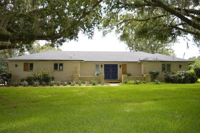 Ocala Single Family Home For Sale: 5743 NW 80th Avenue Road