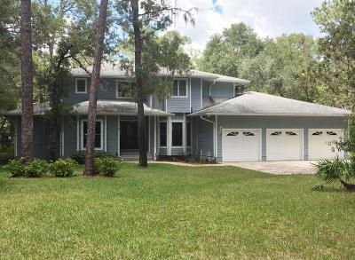 Dunnellon Single Family Home For Sale: 2975 E Withlacoochee Trail