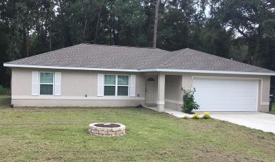Ocala Single Family Home For Sale: 6530 NW 65th Street