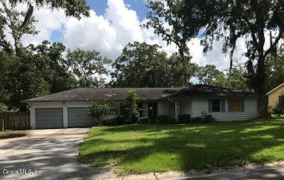 Ocala Single Family Home For Sale: 3908 SE 15th Street