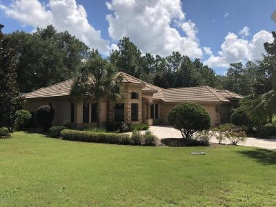 Dunnellon Single Family Home For Sale: 17917 SW SW 61st Lane Road Road