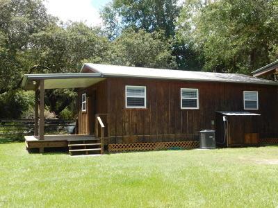 Ocklawaha Single Family Home Pending: 16785 SE 95th Street Road