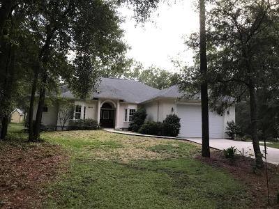 Dunnellon Single Family Home For Sale: 8660 SW 209th Court