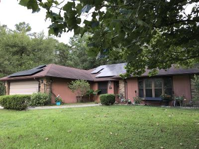 Fort McCoy Single Family Home For Sale: 10200 NE 130th Avenue