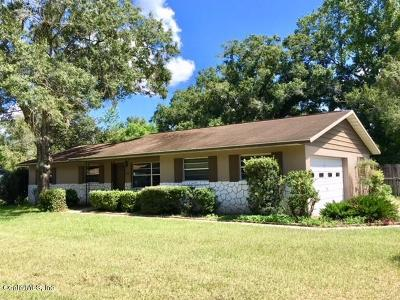 Ocala Single Family Home For Sale: 2000 NE 50th Street