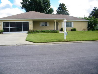Dunnellon Single Family Home For Sale: 11373 SW 138th Place