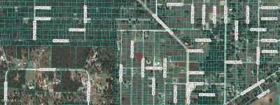 Ocala Residential Lots & Land For Sale: SW 151st Ave Avenue