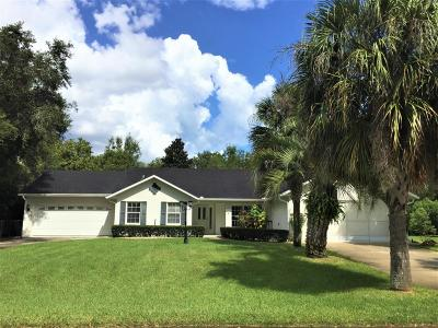 Ocala Single Family Home For Sale: 10811 SW 53rd Circle