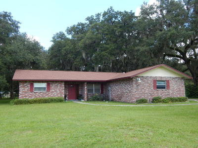 Levy County Single Family Home For Sale: 6890 SE 194th Avenue