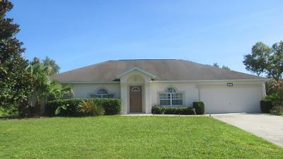Ocala Single Family Home For Sale: 4891 SW 110th Lane