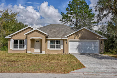 Marion Oaks North, Marion Oaks South, Marion Oaks Rnc Single Family Home For Sale: 491 Marion Oaks Boulevard