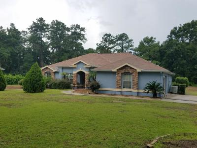 Ocala Single Family Home For Sale: 356 SE 125th Pl