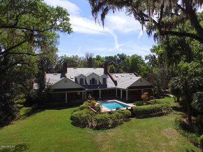 Ocala FL Single Family Home For Sale: $1,565,000