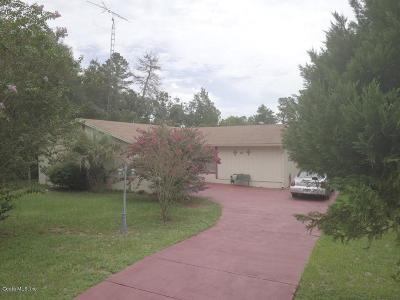 Marion Oaks North, Marion Oaks South, Marion Oaks Rnc Single Family Home For Sale: 2690 SW 151 Pl Place