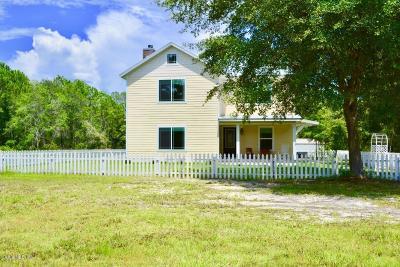 Ocklawaha Single Family Home Pending: 10053 SE 182nd Avenue Road