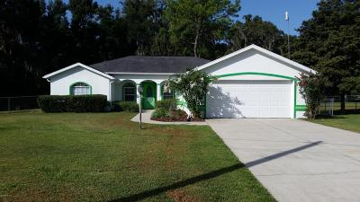 Belleview Single Family Home For Sale: 4472 SE 109th Place