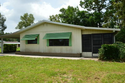 Marion County Single Family Home For Sale: 9554 SW 101st Lane